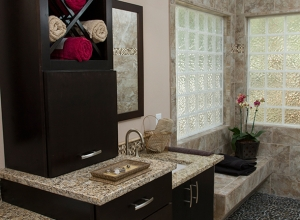Award Winning Spa-Style Master Bath in Holly Springs, NC